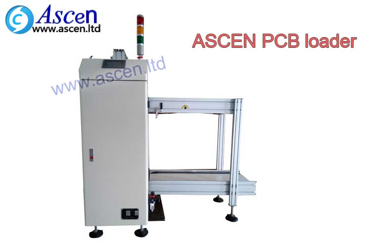 automatic SMT pcb loader for SMT manufacturing from ASCEN technology