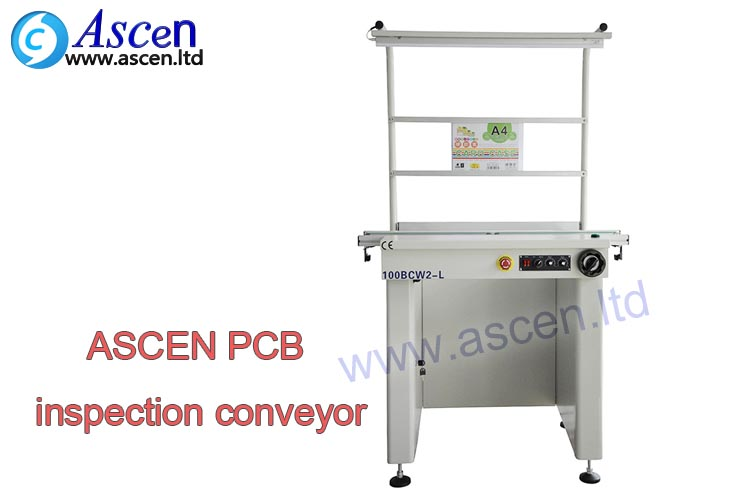 multi function PCB conveyor connect the auto PCB online loader