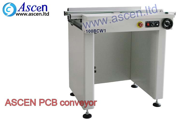0.5M PCB link conveyor with the ESD belt conveyor as the PCB transporter