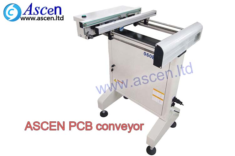 PCB online conveyor linking automatic PCB magazine loader for PCB handling
