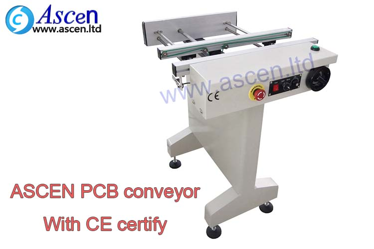 SMT assembly line with SMT online conveyor and PCB conveyor handler