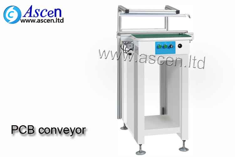 1M Pcb Inspection Conveyor with One Sections control