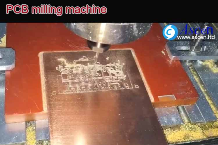 <b>PCB milling machine Milling and Drilling PCBs</b>