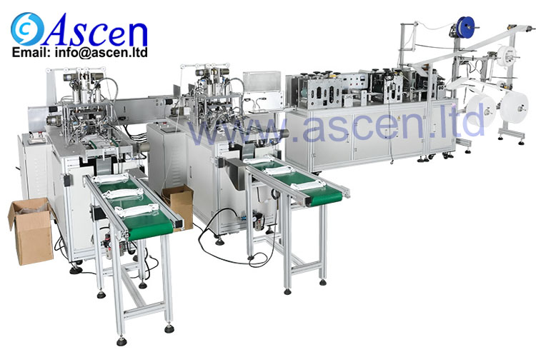 Automation mask production machine