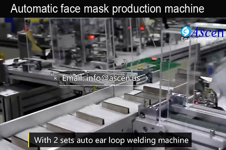 Automatic Medical Face Mask Machine