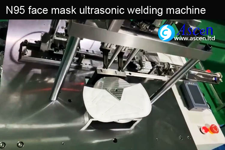 <b>N95 mask making ultrasonic welding machine</b>