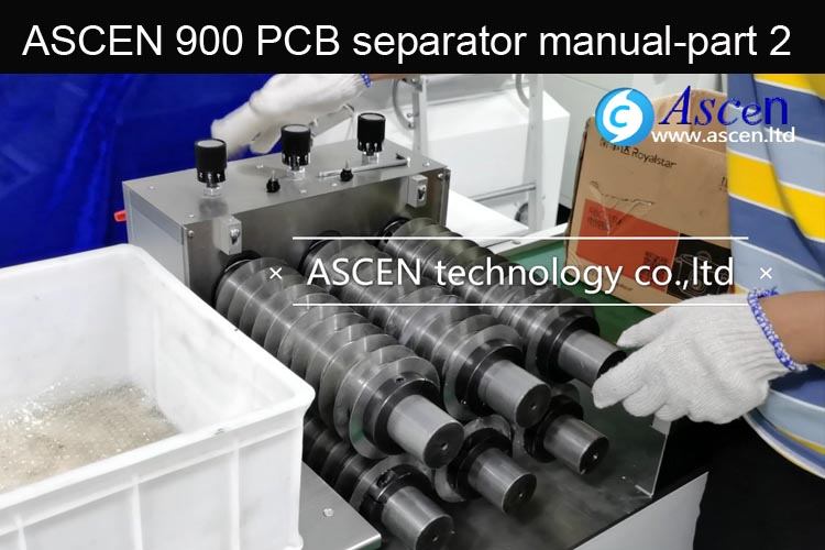 How to adjust PCB depaneling machine/change PCB panel cutting width
