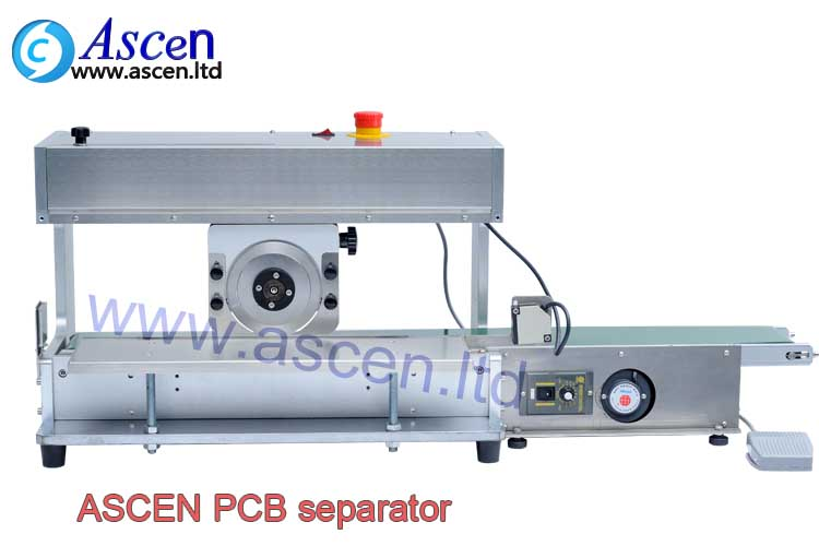 Depaneling machine for separation PCB circuit boards