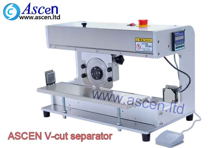 PCB separator V cutter equipment for cutting PCBA panel