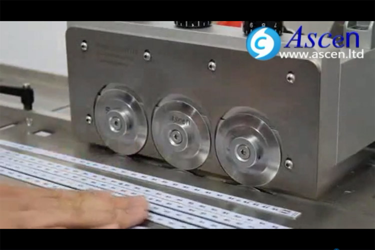 how to adjust PCB depaneling machine