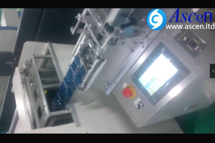 automatic PCB depaneling with PCB magazine loader