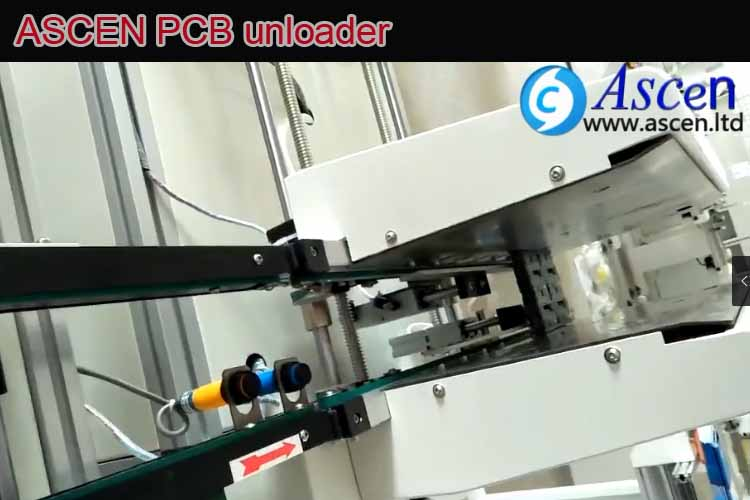 <b><b>PCB destacker/SMT pcb online unloader machine</b></b>