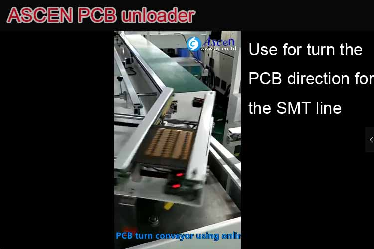PCB turn conveyor|PCB diverter|SMT turning conveyor