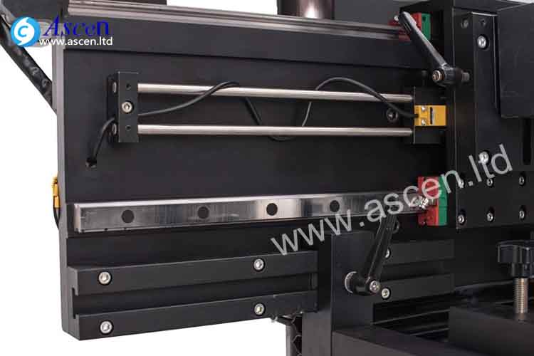PCB soldering paste pirnting linear guides
