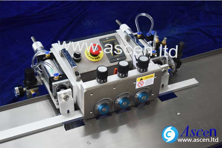 PCB cutting machine quickly adjust PCB depaneling width