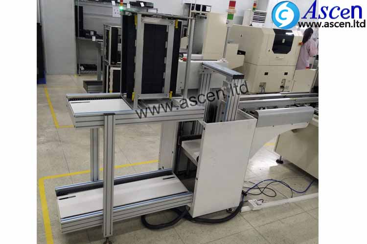 PCB magazine unloader/automatic pcb bare board unloader equipment for full-auto production line origi