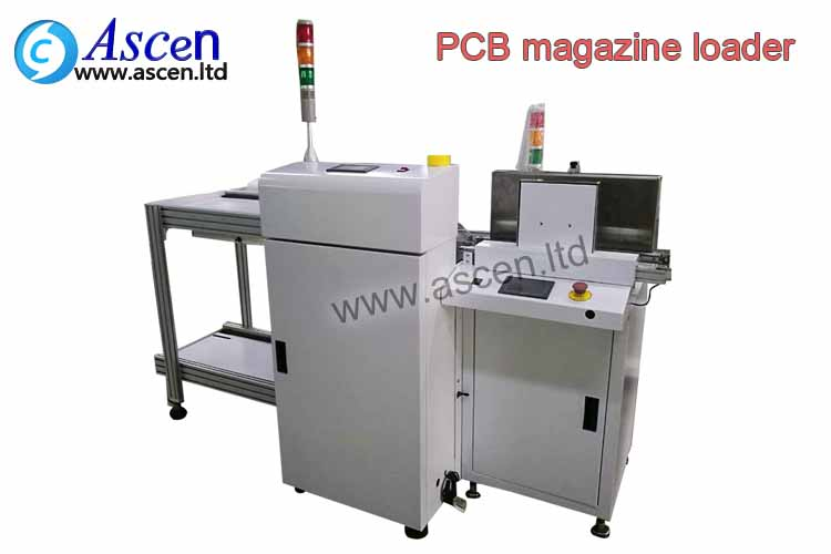 SMT magazine loader is used at the starting of the SMT production line for loading of PCBA to the li