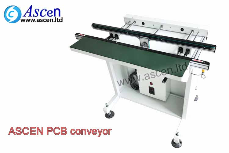 0.5M PCB transfer conveyor PCB board transporter for visual inspection after PCB soldering