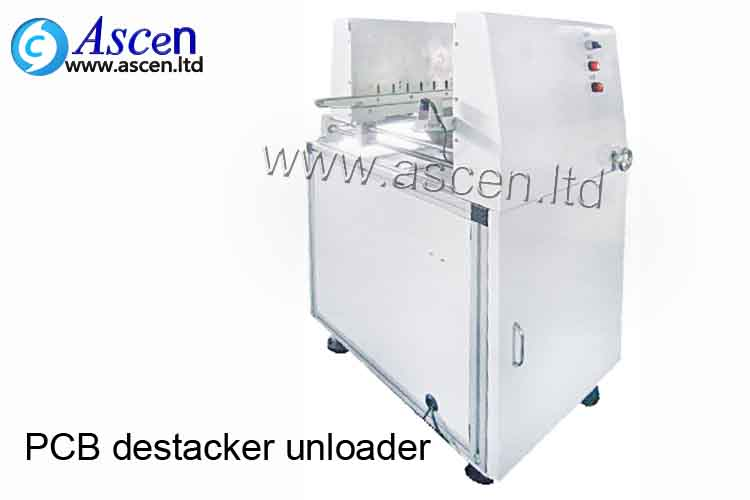 CE certify Mini PCB stacking unloader bare board unloder saving space for SMT assembly line