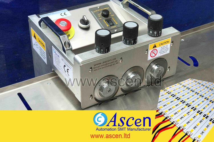 Why choose ASCEN LED PCB cutting machine to separate PCB panel