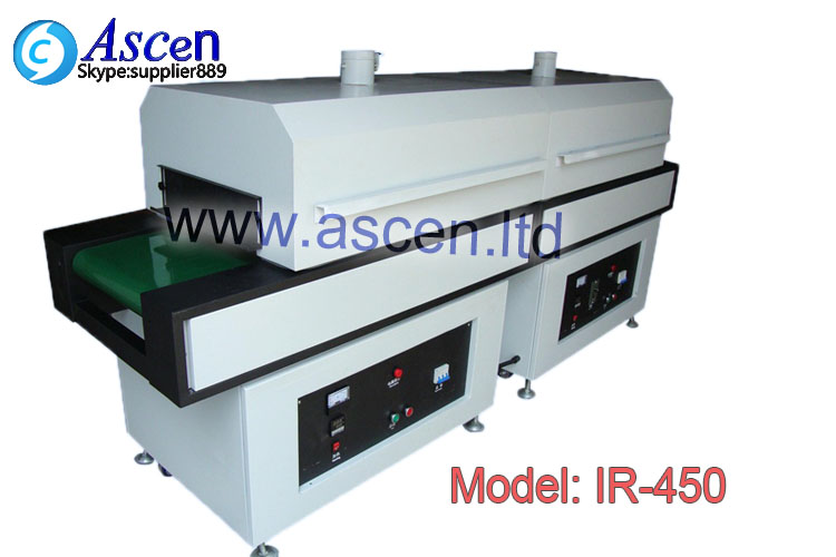 PCB infrared curing oven