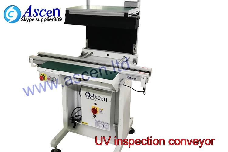 PCB UV inspection station