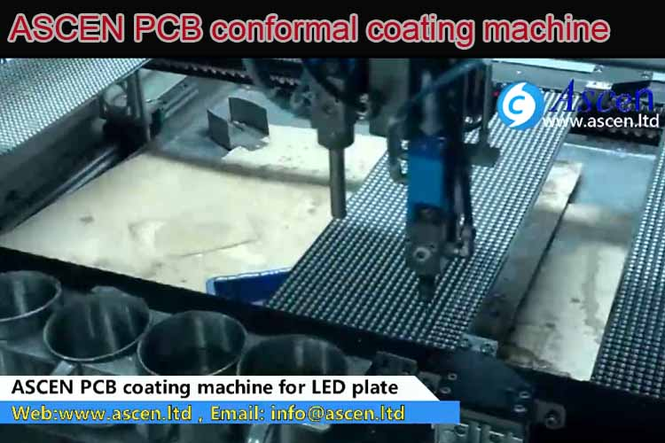 <b><b>LED panel PCB conformal coating machine</b></b>
