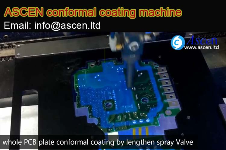<b><b>PCB surface conformal coating machine</b></b>