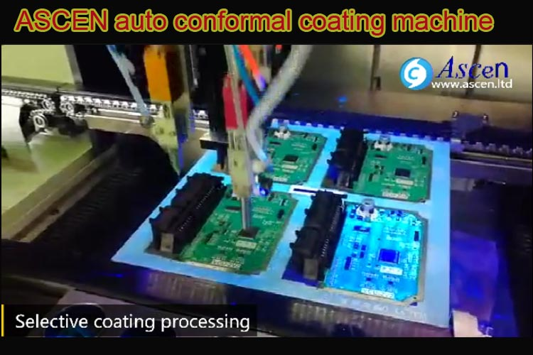 <b><b>PCBA conformal coating machine</b></b>