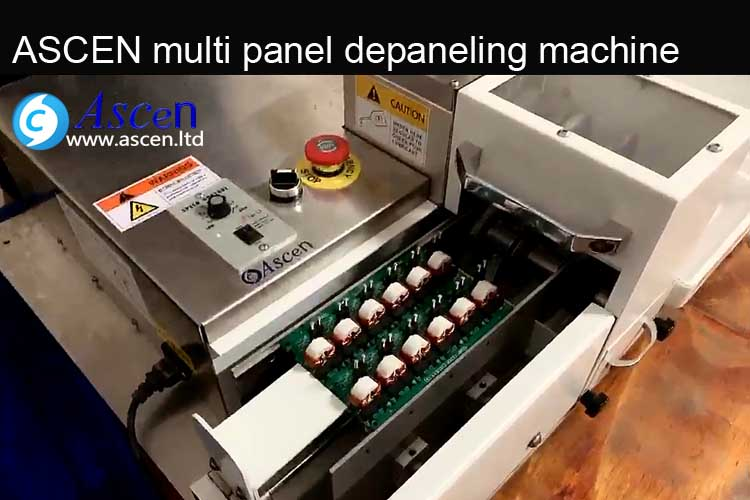 multiple PCBs cutting machine