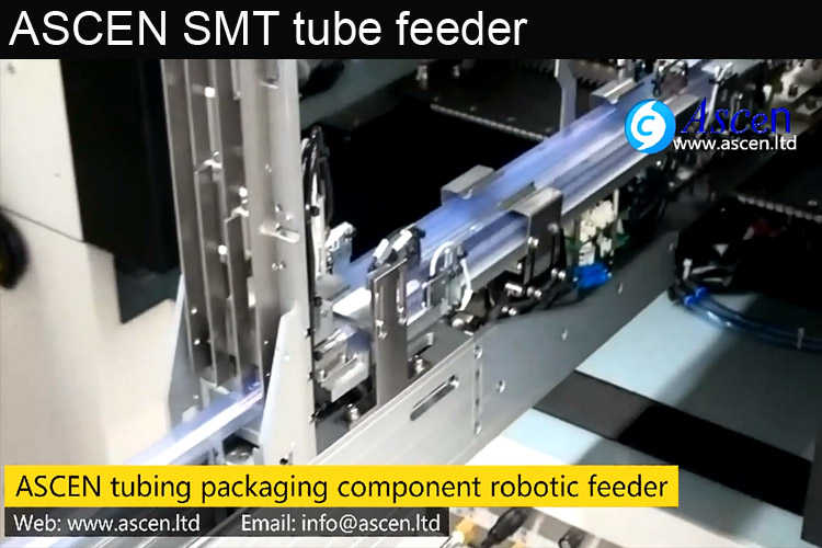 SMT taped stick tube feeder