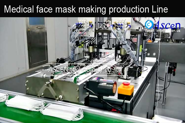 <b>Automatic face mask making machine</b>