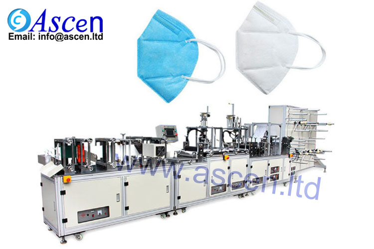 <b>N95/FPP2 fold mask production line</b>