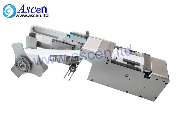 SMT label feeder to SMT mounter