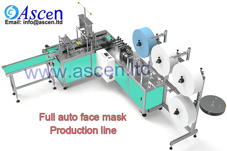 surgical medical face mask making machine