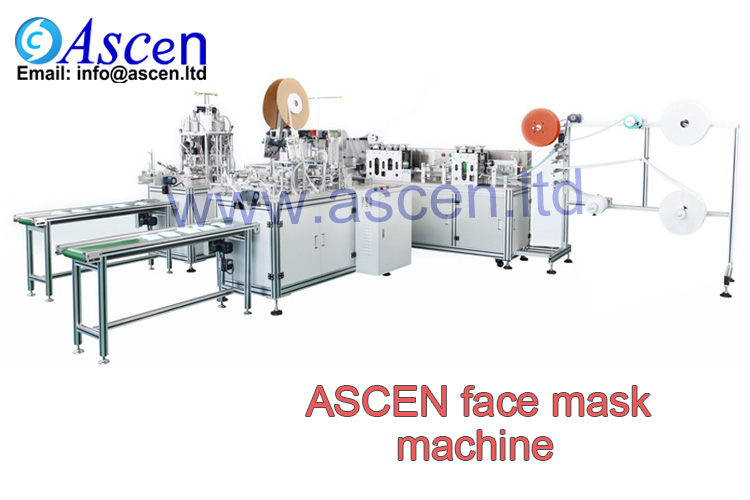 Pollution mask making machine