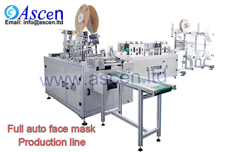 3-ply surgical mask making line