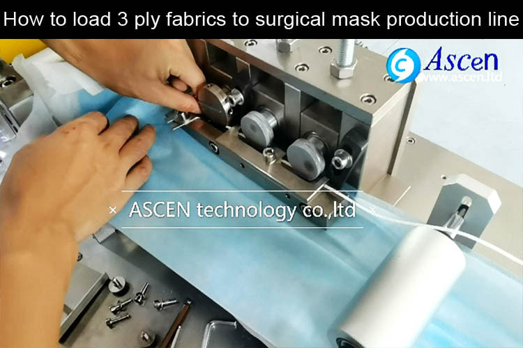 How to adjust 3 ply meidcal mask making machine for surgical mask