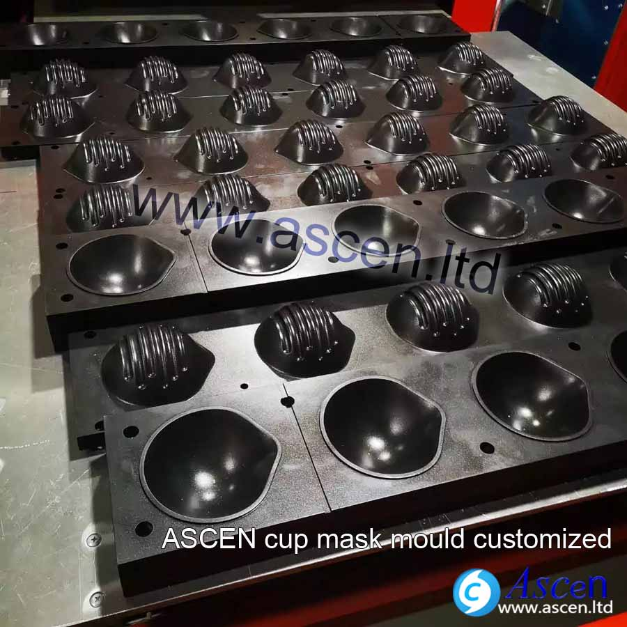 Cup styles N95 mask production line