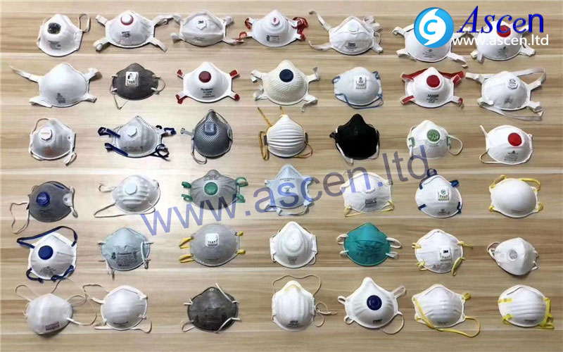 Cup respirator face mask making machine