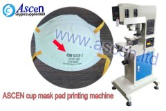 N95 respirator pad printing machine for cup mask and 3M respirator