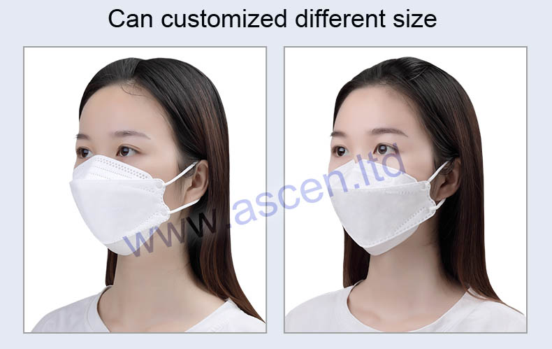 KF94 fish folding mask sample