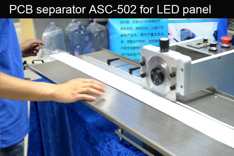 PCB depaneling equipment for LED panel separation