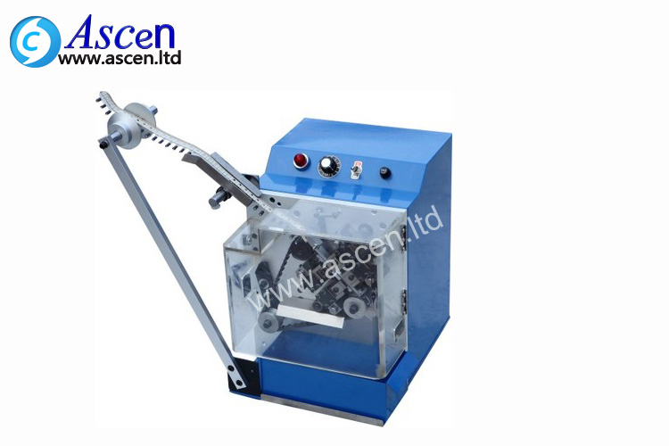 Radial lead forming machine